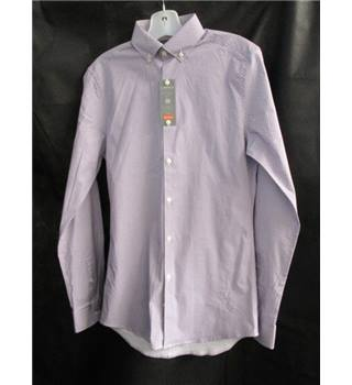 "MARKS AND SPENCERS - MENS SHIRT - LIMITED EDITION SUPER SLIM FIT - COLLAR 14"" - SMALL - bnwts"