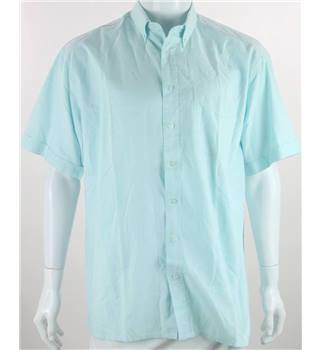 C&A Size: L Pale Blue Short sleeved Shirt