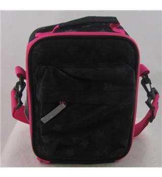 M&S Kids one size black  with pink backpack
