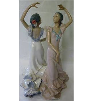 Lladro - two Spanish dancers