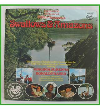 Wilfred Josephs - Swallows & Amazons - David Wood Narrates Arthur Ransome's Famous Story - MFP 50155