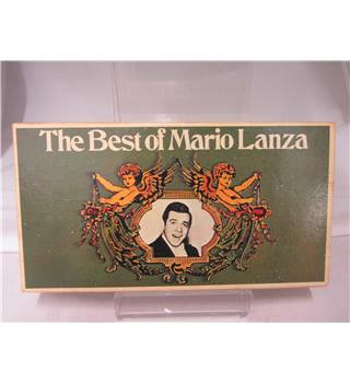 The Best of MaRIO lANZA 3 BOX SET Cassettes with instruction manual   RARE
