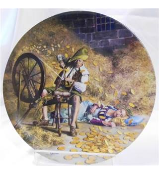 Rumpelstilzchen collectable plate Grimm's Fairy tales by Charles Gehm