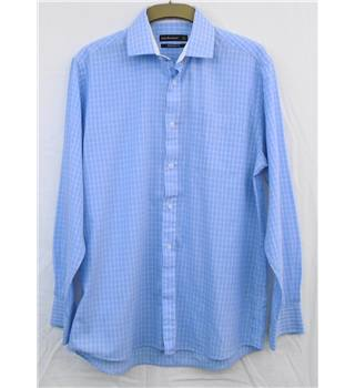 Cedar Wood State blue shirt Size 16