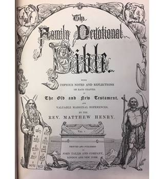 The Family Devotional Bible volumes 1, 2 and 3