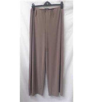 Saloos - Size: L - Taupe - Trousers