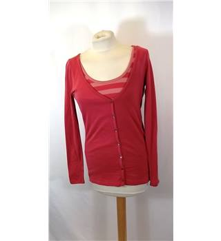 BNWT Esprit - Size: S - Pink Two in One Top