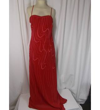 Celavie collection size L (UK 8) red colour dress Celavie collection - Size: L - Red