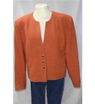 Jacket Jacques Vert - Size: 12 - Orange
