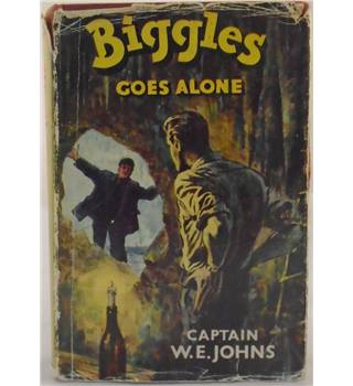 Biggles Goes Alone (First Edition)