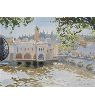 Waterwheels and Divers, Hama
