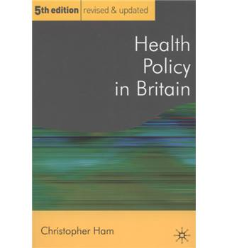 Health policy in Britain