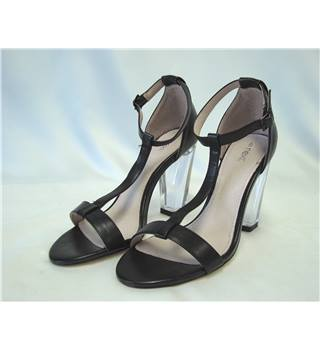 BNIB Next Black and Clear High Heel Shoes - size 6