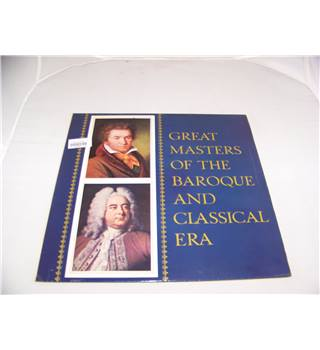 great masters of the baroque and classical era  - 104 475
