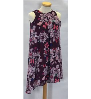 Ted Baker age 9 purple floral patterned dress [HALF PRICE]