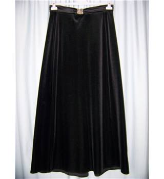 Unbranded - Size: 16 - Black - Long skirt