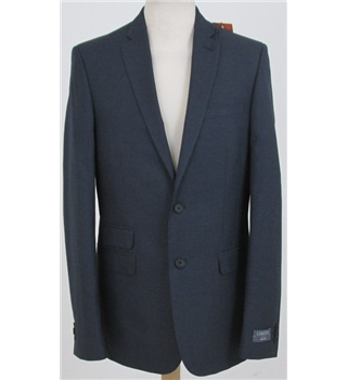 "NWOT M&S Limited Edition size: 38""L blue single breasted suit jacket"