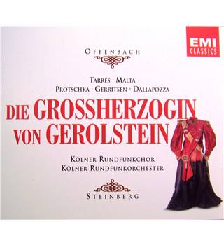 Grand Duchess of Gerolstein - Offenbach (another of Frenchman's amusing & striking operettas 2 CDs)