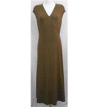 Country casuals brown dress Size M