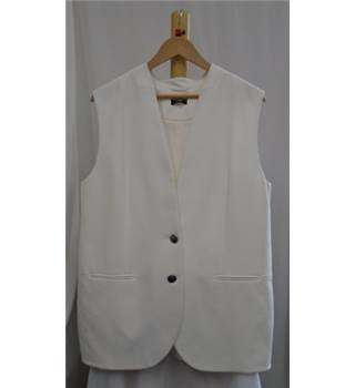 Wallis Size XL White Jacket
