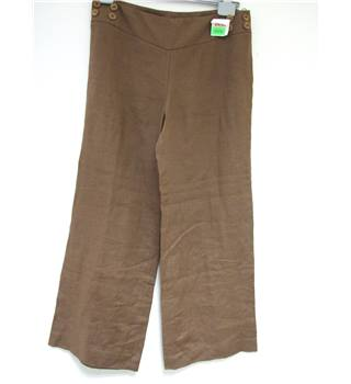 James Lakeland S: 48 Brown Women's Trouser