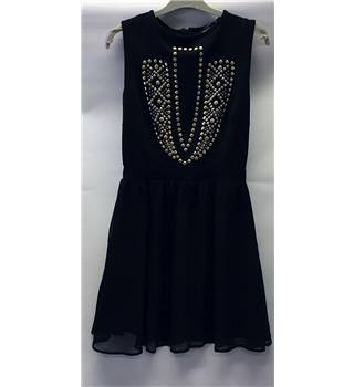 MISS GUIDED size: 10 black cocktail dress [HALF PRICE]