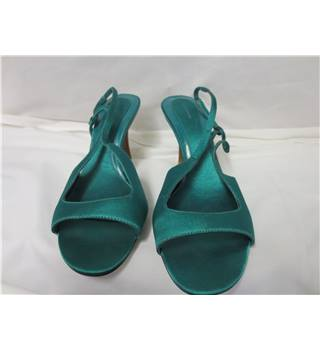 BNWT Emerald Green M&S Women's Sandals Size 5 The Collections from Marks and Spencer - Size: 5 - Green - Sandals