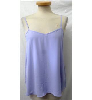 Topshop - Size: 10 - Light perlwinkle Purple - T-Shirt