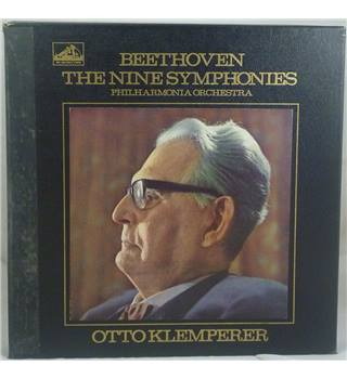 Beethoven - Otto Klemperer, Philharmonia Orchestra ‎– The Nine Symphonies - SLS 788/9