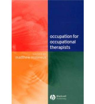Occupation for Occupational Therapists