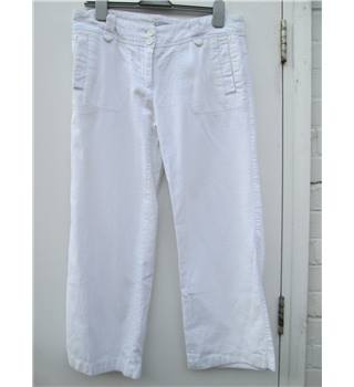 Fat Face - Size: 12 - White - Jeans