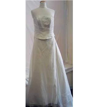 Mori Lee by Madeline Gardner Wedding Dress - Size: 14 - Ivory
