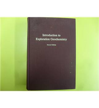 Introduction to Exploration Geochemistry