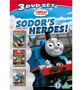 Thomas the Tank Engine and friends 3 DVD's