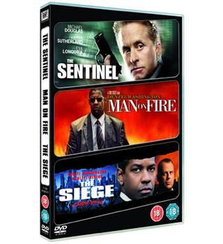 The sentinel / Man on fire / The siege 18