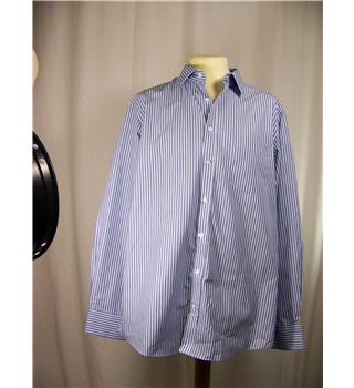 BNWOT - M&S - Size: L - Blue and White striped