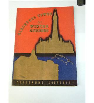 Blackpool Tower Winter Gardens programme circa 1939