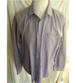 Hugo Boss - Purple - Regular Fit -Long Sleeved Shirt -  Size L