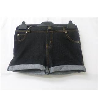 BNWT Golddigga Size 8 Black Denim Shorts