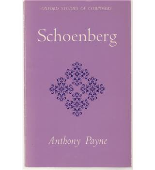 Schoenberg - Oxford Studies of Composers