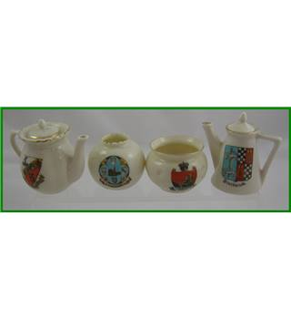 Vintage - Crested ware collection