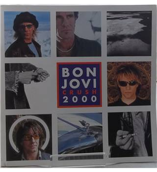 Bon Jovi Crush 2000 tour programme