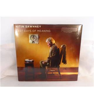 Nitin Sawhney ‎– Last Days Of Meaning - CD Album
