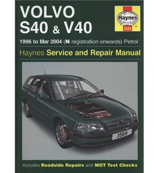 Volvo S40 & V40 service and repair manual