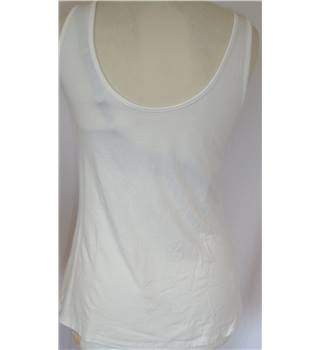 Reiss -XS Cream / Ivory / Off White Top