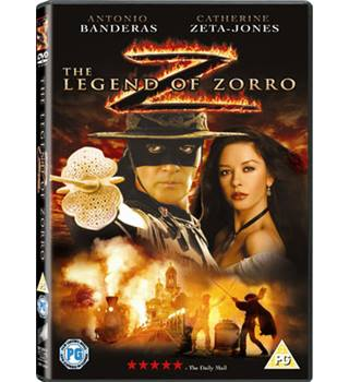 The legend of Zorro PG