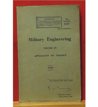 Military Engineering Volume XV