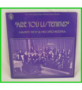 Harry Roy & His Orchestra - Are You Listening -  SH.187/8