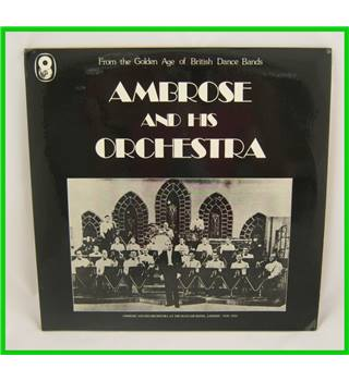 Bert Ambrose - Ambrose and His Orchestra - SHB.21