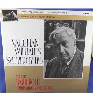 Vaughan Williams: Symphony No. 5 - Sir John Barbirolli - ASD 508